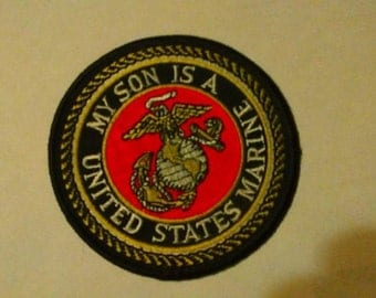 My Son Is A United States Marine Patch