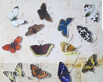 Butterfly stickerset 2