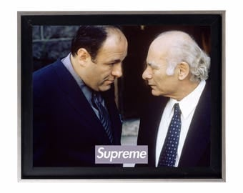 Supreme x The Sopranos 'Loyalty' Poster or Art Print
