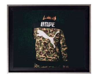 Bape x Puma Poster or Art Print (a bathing ape)