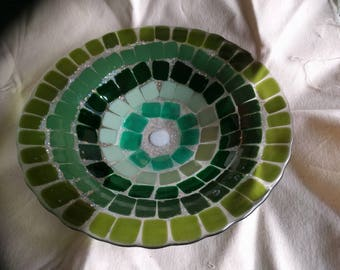 Fused Glass Fruit Bowl