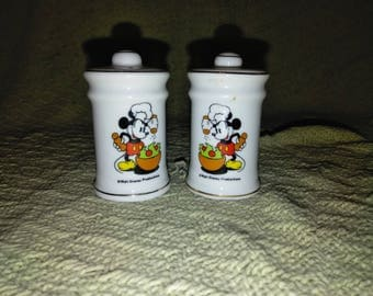 Walt Disney Production-Mickey Mouse salt and pepper shakers