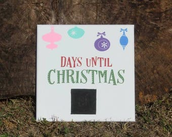 Days until Christmas 10x10