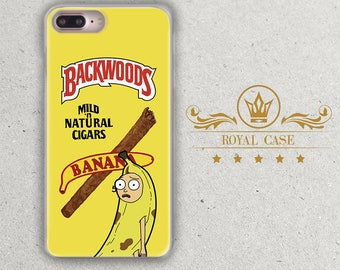 iPhone 6S Plus Case, Backwoods, Rick and Morty, iPhone 7 case, iPhone 6S Case, iPhone 7 Plus case, iPhone 8 Case, iPhone 8 Plus Case, 360