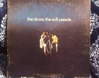 The Doors The Soft Parade Vinyl Record Rare Red Elektra Label With Big E VG+ Condition