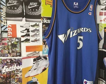 Champion Wizards Jersey Kwame Brown