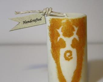 God in the Details Candle   Pagan Candles   Ritual, Spell, Devotion Candle
