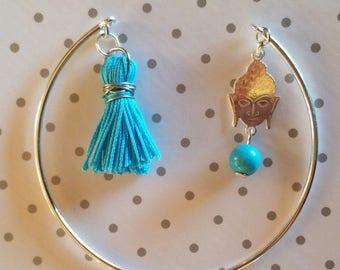 "bangle bracelet 925 silver ""Buddha"""