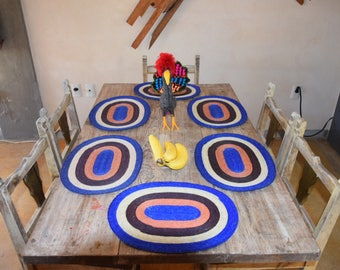 Handcrafted dining table mats