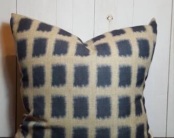 Blue Boxes, Pillow Cover, Throw Pillow, Pillow Sham, Decorative Pillow, Handmade Pillow