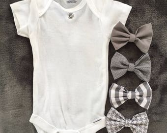 Concrete Jungle Baby Boy Interchangeable Bow Ties