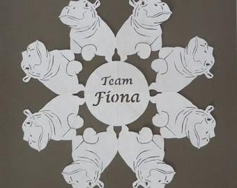 Fiona snowflake