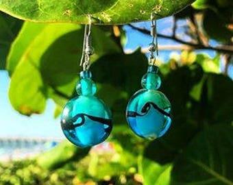 Handmade Wave Earrings