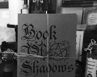 Book of Shadows Booklet - wicca pagan witch witchcraft