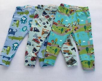 Boys' leggings 6-9 months.
