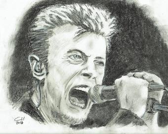 David Bowie Print and Original