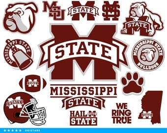 Bulldogs svg – Mississippi State Bulldogs svg – Bulldogs clipart – Mississippi State svg – raster, vector files – svg, pdf png dxf eps