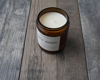 Maple Bourbon Soy Candle