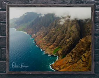 Napali Coast: Kauai, Hawaii Photo Print