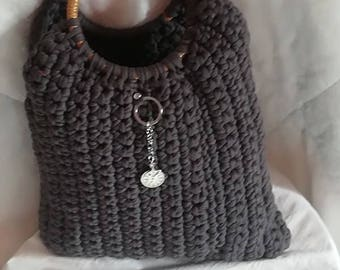 Handcrafted in zpagetti handbag