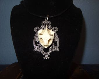 turtle skull necklace