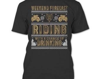 Weekend Forecast Riding T Shirt, I'm A Biker T Shirt