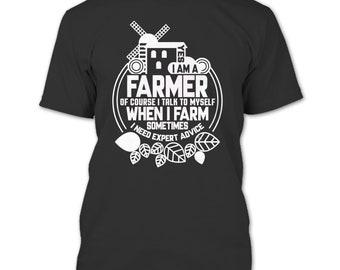 Yes I Am A Farmer T Shirt, Coolest Farmer T Shirt