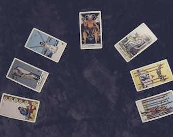 Horseshoe Spread (7) Cards