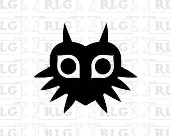 Zelda Majora's Mask Decal