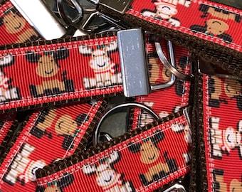 Reindeer key fobs