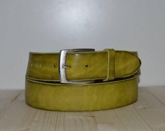 Leather Belt buckle Brass