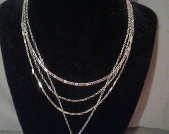 Multiple Link Necklace