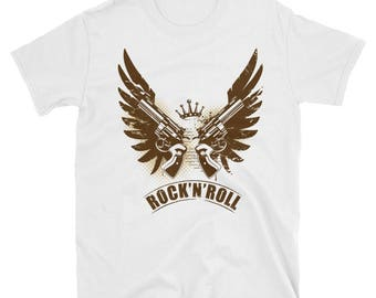 Rock n Roll - short sleeve unisex t-shirt