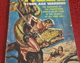 1964  Naza Stone Age Warrior #1 November 1964 VG First Issue