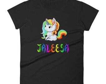 Jaleesa Unicorn Ladies T-Shirt