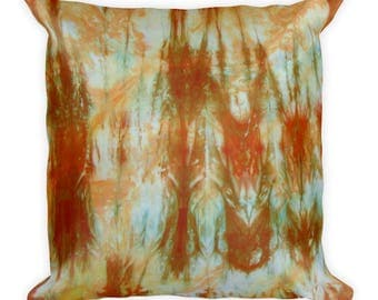 Adire Pattern Square Pillow