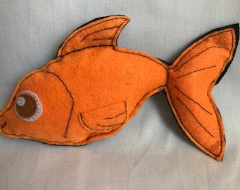 tooth pillow - goldfish