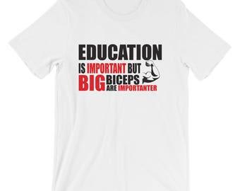 Gym, Fitness Themed Short-Sleeve Unisex T-Shirt