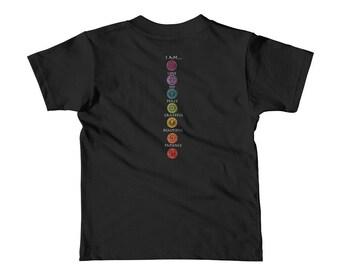 AMM Short sleeve affirmations kids t-shirt
