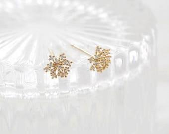 flower pop earring