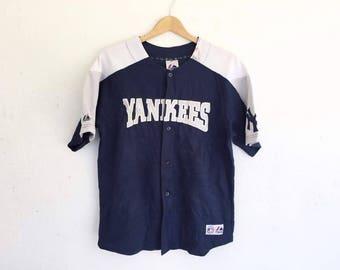 Vintage 90s Majestic NY Yankees