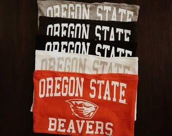 Oregon State Beavers Tube Top