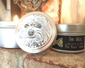 Fruit Basket Turnover Hand-Poured Soy Candle