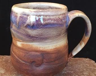 Mug-018 , Free Shipping, Ceramic Mug,Cup, 14oz, Handmade Mug, Earthy Mug, Wabi Sabi Style Cup, Coffee,Tea mug/Cup