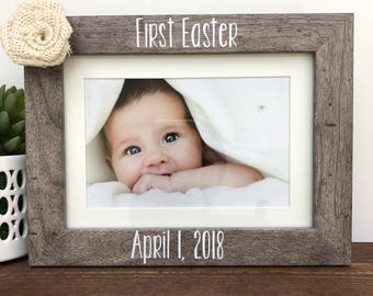 Easter gift grandma etsy first easter picture frame grandma gift mothers day gift negle Gallery