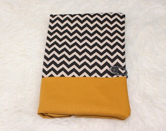 Health booklet protection cover - Chevron