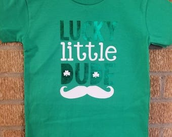 Toddler Boys Lucky Little Dude St. Patrick's day Shirt