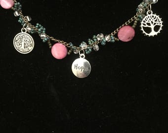 Tree of hope necklace