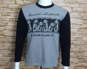 KANSAI IMPACT sweatshirt crewnek jumper medium size