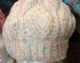 3d leaf beanie hat